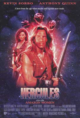 Hercules and the Amazon Women - 27 x 40 Movie Poster - Style A