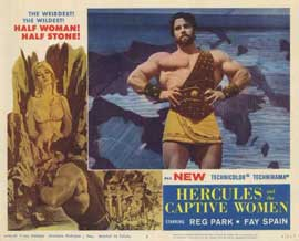 Hercules and the Captive Women - 11 x 14 Movie Poster - Style B
