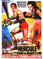 Hercules and the Tyrants of Babylon - 11 x 17 Movie Poster - Belgian Style A