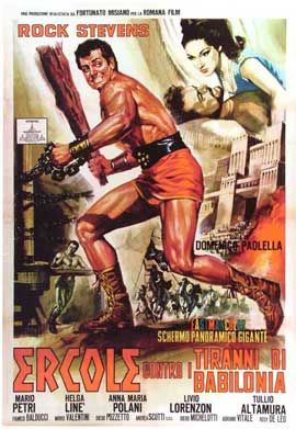 Hercules and the Tyrants of Babylon - 11 x 17 Movie Poster - Italian Style A