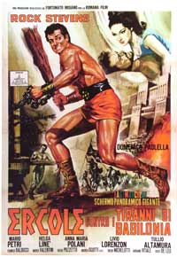 Hercules and the Tyrants of Babylon - 27 x 40 Movie Poster - Italian Style A