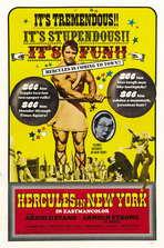 Hercules in New York - 27 x 40 Movie Poster - Style B