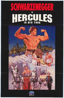 Hercules in New York - 11 x 17 Movie Poster - Style A