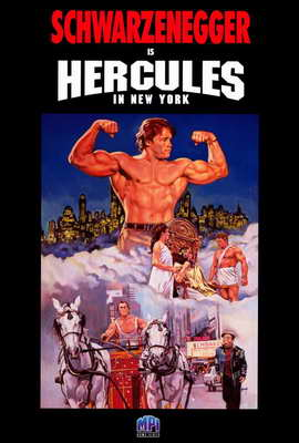 Hercules in New York - 27 x 40 Movie Poster - Style A