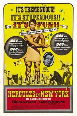 Hercules in New York - 11 x 17 Movie Poster - Style B