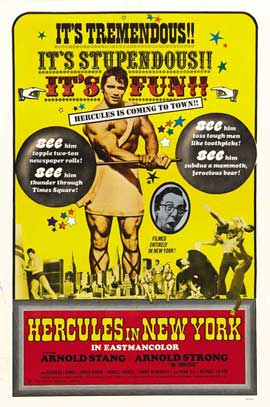 Hercules in New York - 11 x 17 Movie Poster - Style C