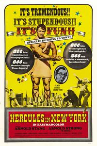 Hercules in New York - 43 x 62 Movie Poster - Bus Shelter Style B