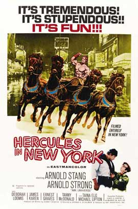 Hercules in New York - 27 x 40 Movie Poster - Style C