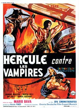 Hercules in the Haunted World - 11 x 17 Movie Poster - French Style A