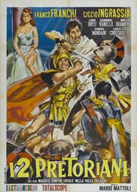 Hercules in the Valley of Woe - 11 x 17 Movie Poster - Italian Style A