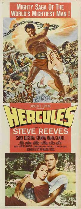 Hercules - 14 x 36 Movie Poster - Insert Style A