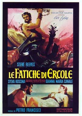 Hercules - 27 x 40 Movie Poster - Italian Style A