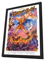 Hercules - 27 x 40 Movie Poster - Style A - in Deluxe Wood Frame