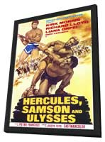 Hercules Samson and Ulysses - 11 x 17 Movie Poster - Style A - in Deluxe Wood Frame