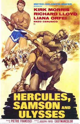 Hercules Samson and Ulysses - 11 x 17 Movie Poster - Style A
