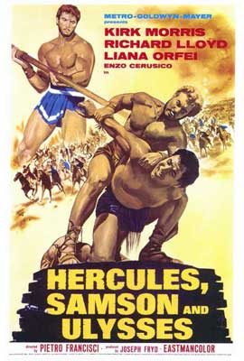 Hercules Samson and Ulysses - 27 x 40 Movie Poster - Style A