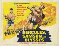 Hercules Samson and Ulysses - 22 x 28 Movie Poster - Half Sheet Style A