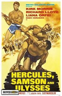 Hercules Samson and Ulysses - 43 x 62 Movie Poster - Bus Shelter Style A
