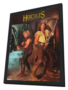 Hercules: The Legendary Journeys - 11 x 17 TV Poster - Style A - in Deluxe Wood Frame