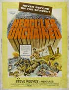 Hercules Unchained - 11 x 17 Movie Poster - Style G