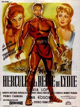 Hercules Unchained - 11 x 17 Movie Poster - French Style A
