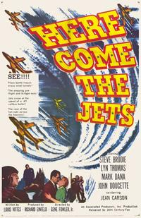 Here Come the Jets - 11 x 17 Movie Poster - Style A