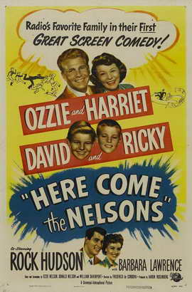 Here Come the Nelsons - 27 x 40 Movie Poster - Style A