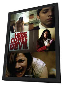 Here Comes the Devil - 11 x 17 Movie Poster - Style A - in Deluxe Wood Frame
