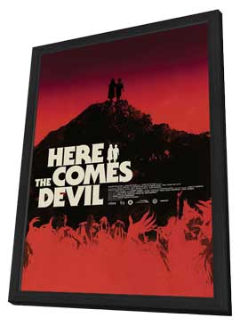 Here Comes the Devil - 11 x 17 Movie Poster - Style B - in Deluxe Wood Frame