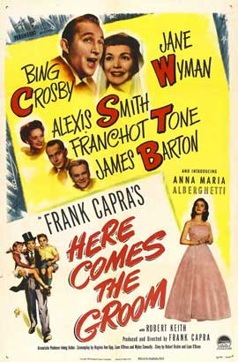 Here Comes the Groom - 11 x 17 Movie Poster - Style A