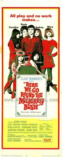 Here We Go Round Mulberry Bush - 14 x 36 Movie Poster - Insert Style A