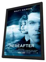Hereafter - 27 x 40 Movie Poster - UK Style A - in Deluxe Wood Frame