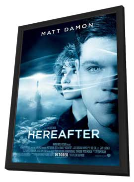 Hereafter - 11 x 17 Movie Poster - Style A - in Deluxe Wood Frame