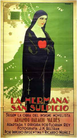 Hermana San Sulpicio, La - 11 x 17 Movie Poster - Spanish Style A