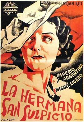 Hermana San Sulpicio, La - 11 x 17 Movie Poster - Spanish Style B
