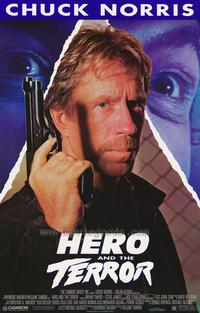 Hero and the Terror - 43 x 62 Movie Poster - Bus Shelter Style A