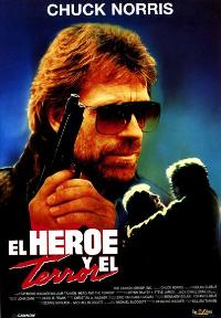 Hero and the Terror - 27 x 40 Movie Poster - Spanish Style A