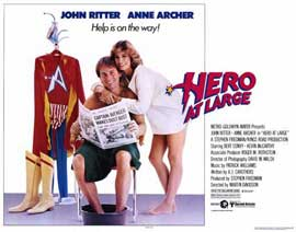 Hero at Large - 11 x 14 Movie Poster - Style A