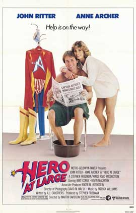 Hero at Large - 11 x 17 Movie Poster - Style A