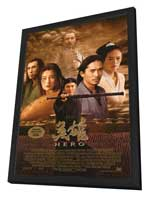 Hero - 27 x 40 Movie Poster - Style A - in Deluxe Wood Frame