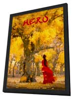 Hero - 11 x 17 Movie Poster - Style I - in Deluxe Wood Frame