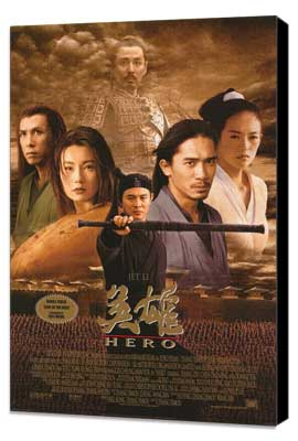 Hero - 27 x 40 Movie Poster - Style A - Museum Wrapped Canvas