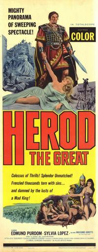 Herod the Great - 14 x 36 Movie Poster - Insert Style A