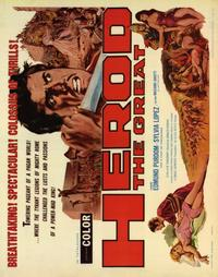 Herod the Great - 22 x 28 Movie Poster - Half Sheet Style A