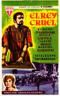 Herod the Great - 11 x 17 Movie Poster - Spanish Style B