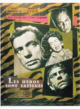 Heroes and Sinners - 11 x 17 Movie Poster - French Style A