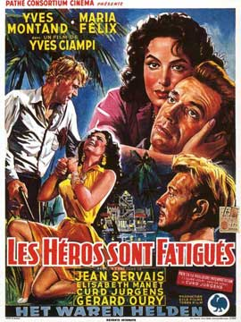 Heroes and Sinners - 11 x 17 Movie Poster - Belgian Style A