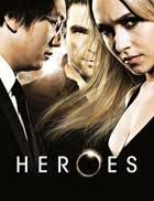 Heroes (TV) - 11 x 17 TV Poster - Style W