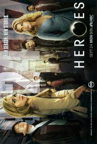 Heroes (TV) - 11 x 17 TV Poster - Style D