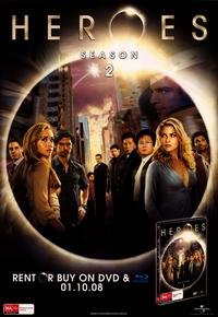 Heroes (TV) - 27 x 40 TV Poster - Australian Style C